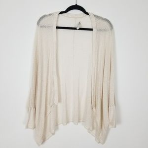 Cream Lightweight Abercrombie Cardigan